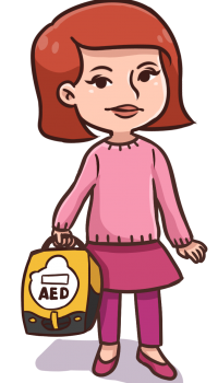 Sinead carrying AED (1)